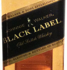 das berühmte johnny walker black label
